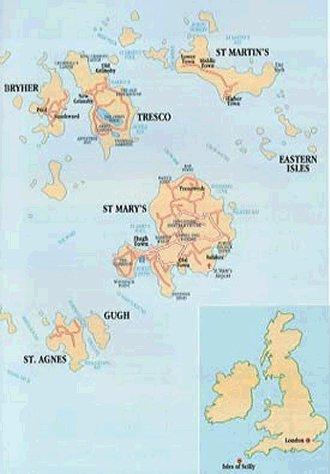 Mniejsze wyspy
