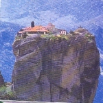 Klasztory Meteory